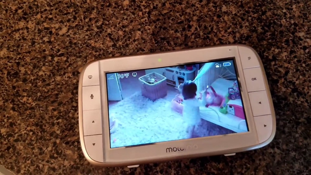 MBP50-G baby monitor video monitoring of the baby