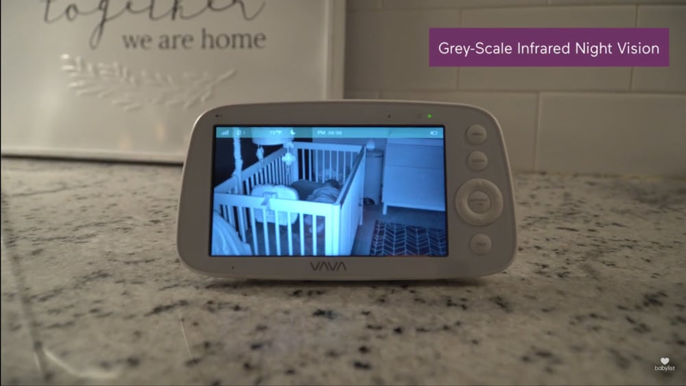 high tech baby monitor