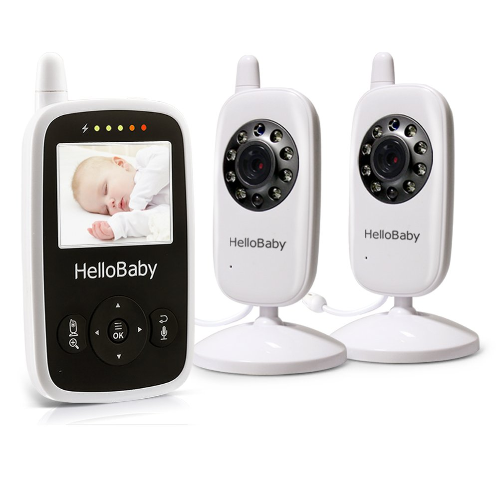 Best split screen baby monitor from the HelloBaby