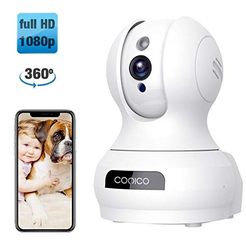 Video Baby Monitor Conico 1080P Wireless WiFi Surveillance Camera Nanny Cam
