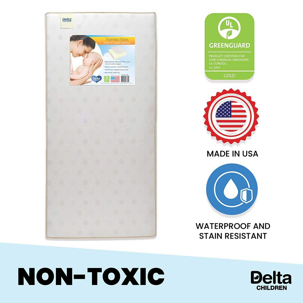 best mattress for baby crib from the Delta Children