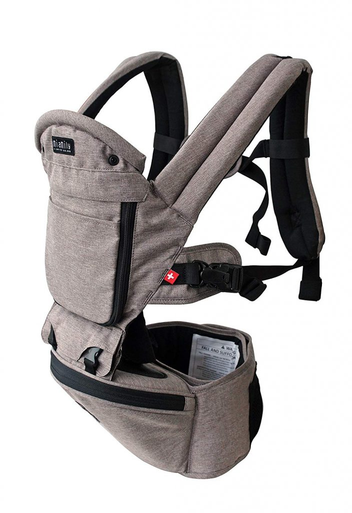 best baby backpack for hiking from the MiaMily