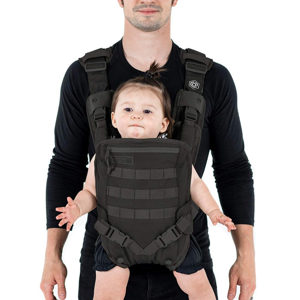 Best baby carriers for dads from the Mission Critical