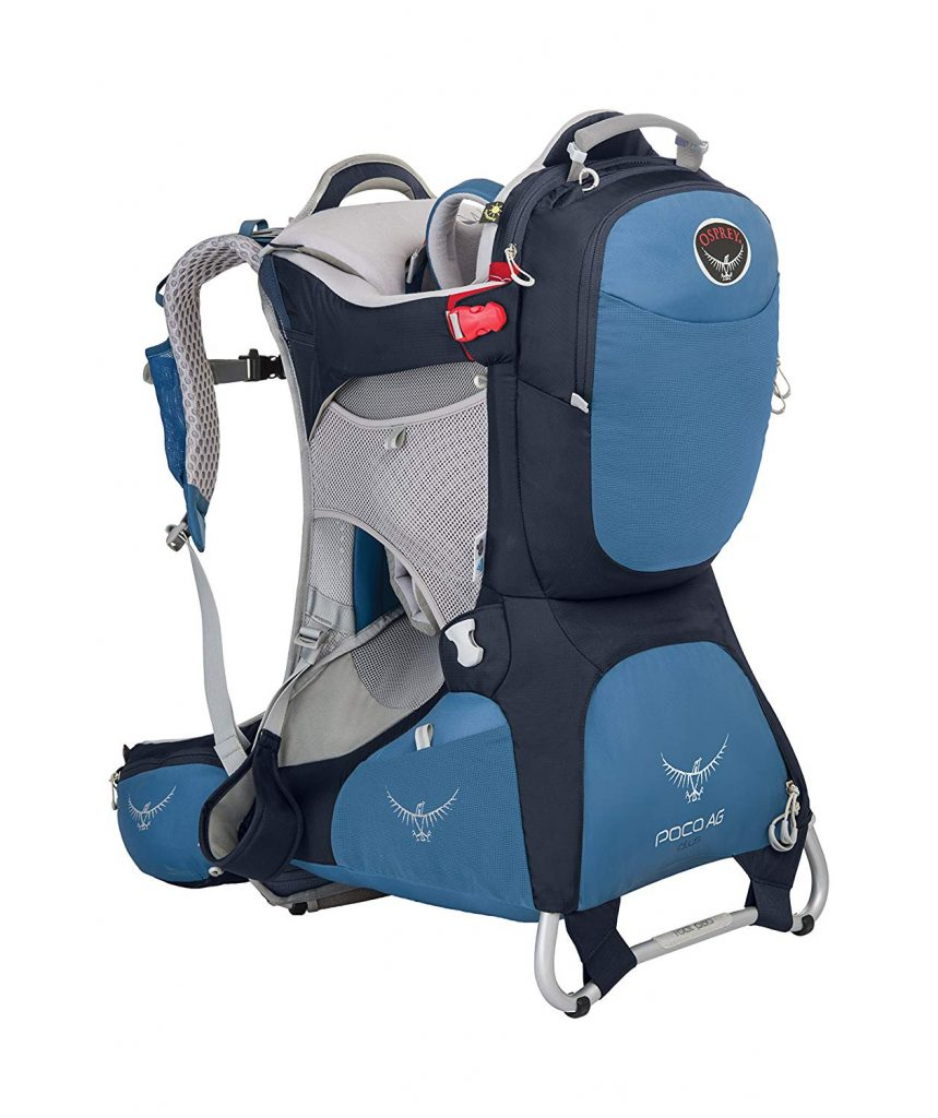 best baby carrier hiking from the Osprey
