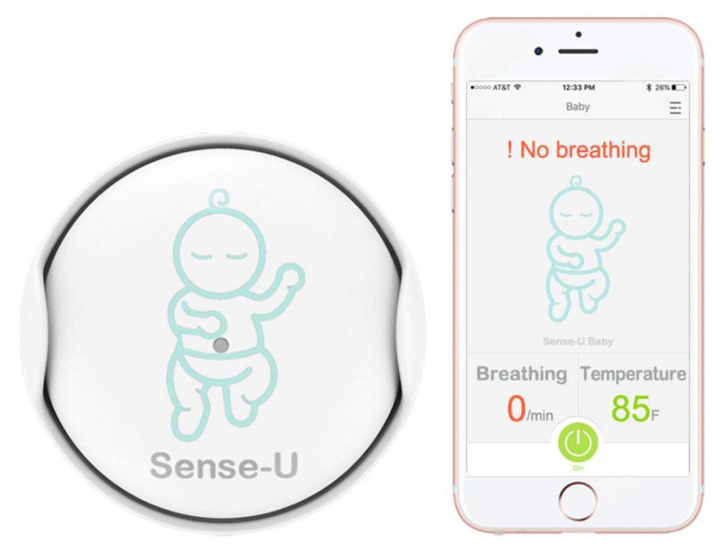 sense-u monitor for baby breathing