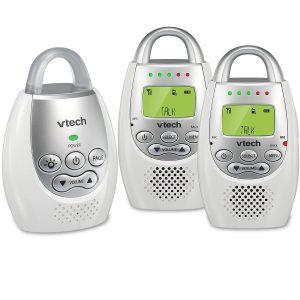 vtech-2-parent-units-best audio baby monitors