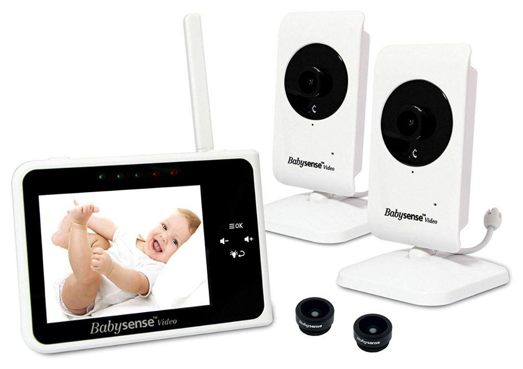 Best baby monitors with 2 cameras for two rooms