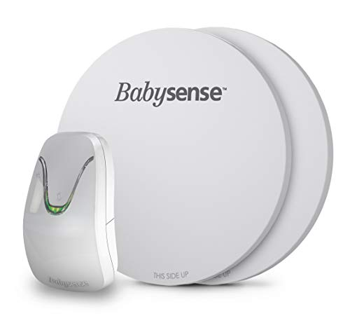 Babysense Under-The-Mattress Baby Movement Monitor - Helps monitor for SIDS | Wireless | High accuracy reports