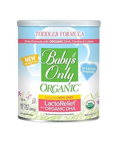 ★ Top-3 Best Organic Formula For Baby ★ Baby's Only Organic LactoRelief with DHA & ARA Toddler Formula   Non-GMO   USDA Organic   Clean Label Project Verified   Lactose Sensitivity