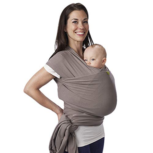 ★ BEST COMFORT SLING ★ Stretchy Infant Sling Boba | Comfortably wraps babies from birth to 35 pounds | 95% Cotton | Hands-free comfort | One Size Fits All