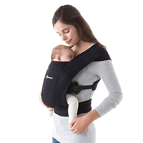 ★ BEST ERGOBABY ★ Ergobaby Embrace Baby Wrap Carrier | Infant Carrier for Newborns 7-25 Pounds | No complicated wrapping or tying