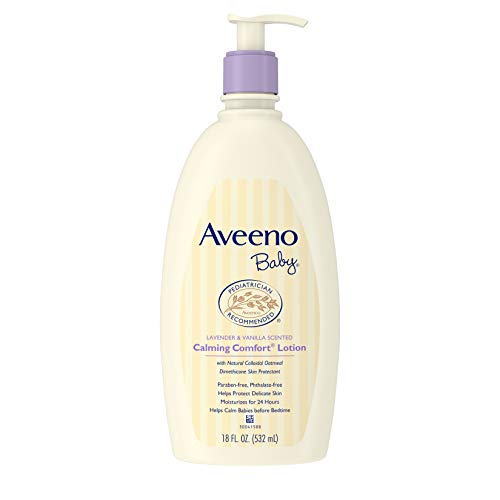 ★ Best Natural Baby Lotion ★ Aveeno Baby Calming Comfort Moisturizing Lotion | Active Naturals Colloidal Oatmeal | Moisturizes for 24 hours