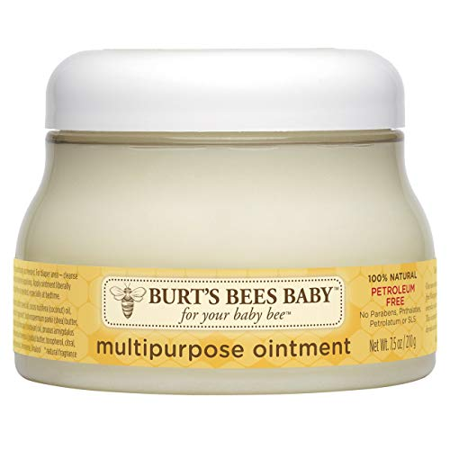 ★ Best Natural Baby Lotion Eczema★ Burt's Bees Baby 100% Natural Multipurpose Ointment | Smooth your baby's delicate skin and protect against diaper rashes, dry skin, and chapped lips with this full-body moisturizer