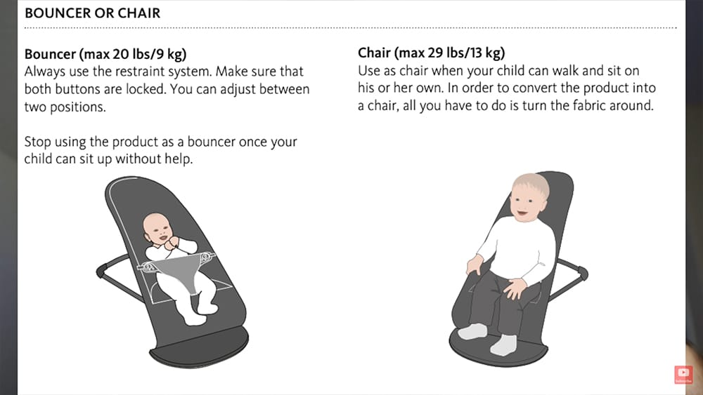 BabyBjorn Bouncer  29 pounds