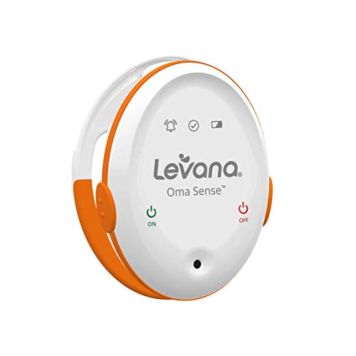 BEST BABY SLEEP MONITOR — Levana Oma Sense Baby Breathing Movement Monitor - Baby Sleep Monitor With Wakeup Technology - Rousing Vibrations, Audio & Lights Stimulates Baby & Alerts Parents - Safety Baby Essentials For Newborn