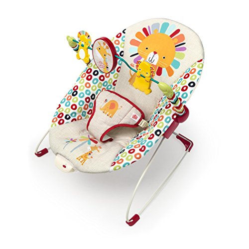 BEST BUDGET — Bright Starts Playful Pinwheels Bouncer with Vibrating Seat