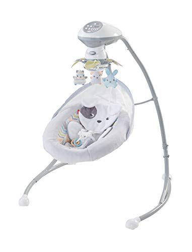 ⭐ BEST CHOICE ⭐ Fisher-Price Sweet Snugapuppy Dreams Cradle 'n Swing