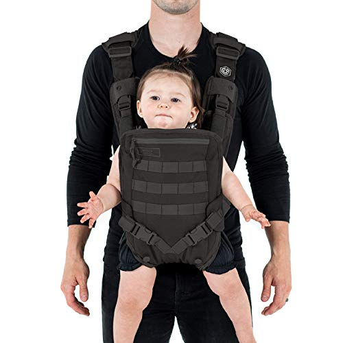 Mission Critical Baby Gear for Dads | Two ergonomic carrying positions | Daypack for even weight distribution | ASTM regulations