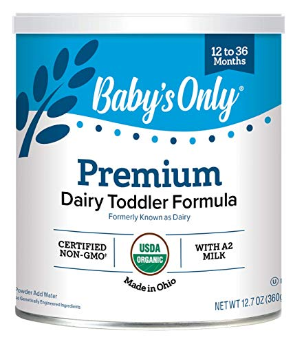 ★ Top-3 Best Organic Formula For Baby ★ Baby's Only Organic LactoRelief with DHA & ARA Toddler Formula | Non-GMO | USDA Organic | Clean Label Project Verified | Lactose Sensitivity