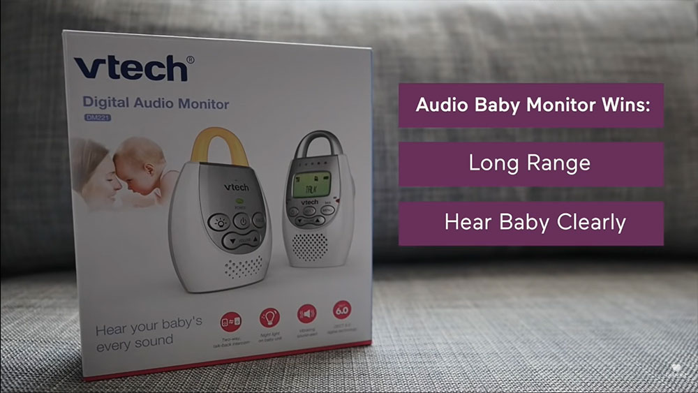 audio-only baby monitors