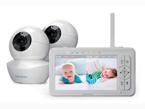 the best split-screen baby monitor Babysense-HD-S2