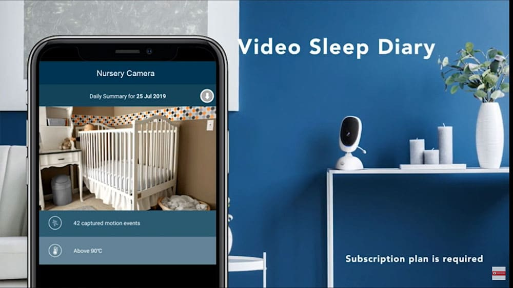 2 camera baby monitor with wifi