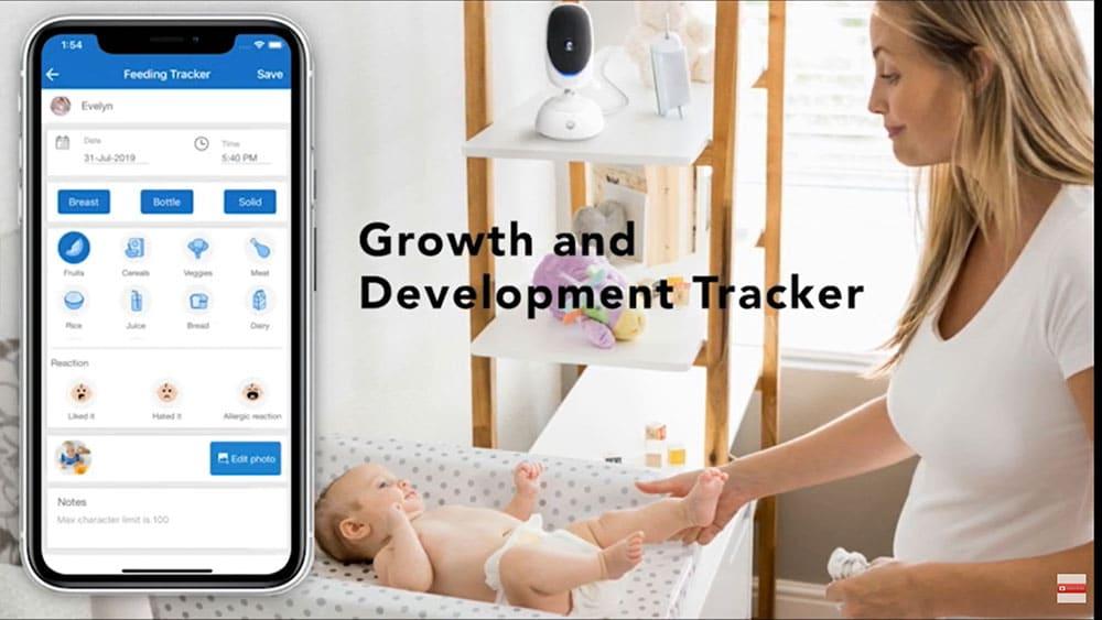 dual camera wifi baby monitor