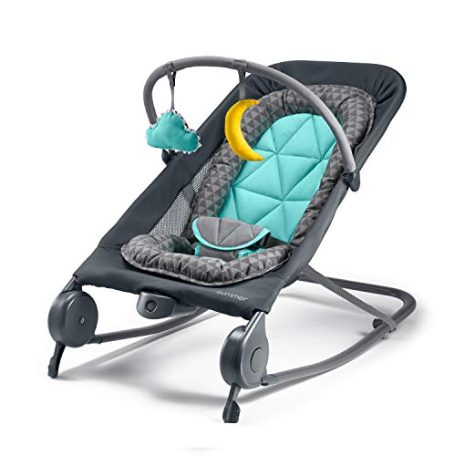Best Baby Rockers And Bouncers — Summer 2-in-1 (Compact Fold for Storage or Travel )