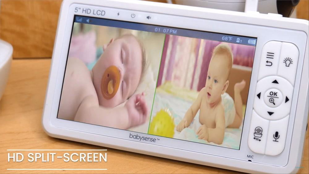 Babysense HD S2 Split Screen