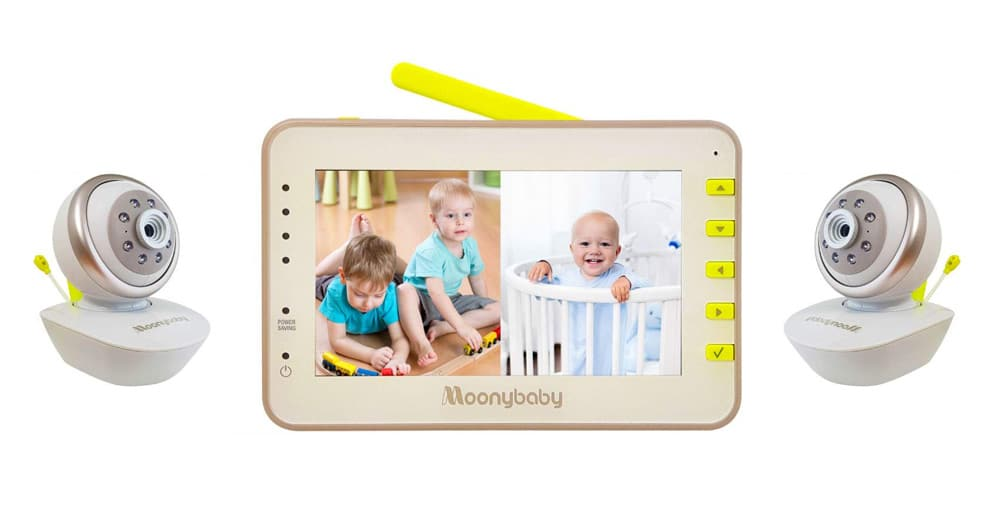Moonybaby Split 55 for twins